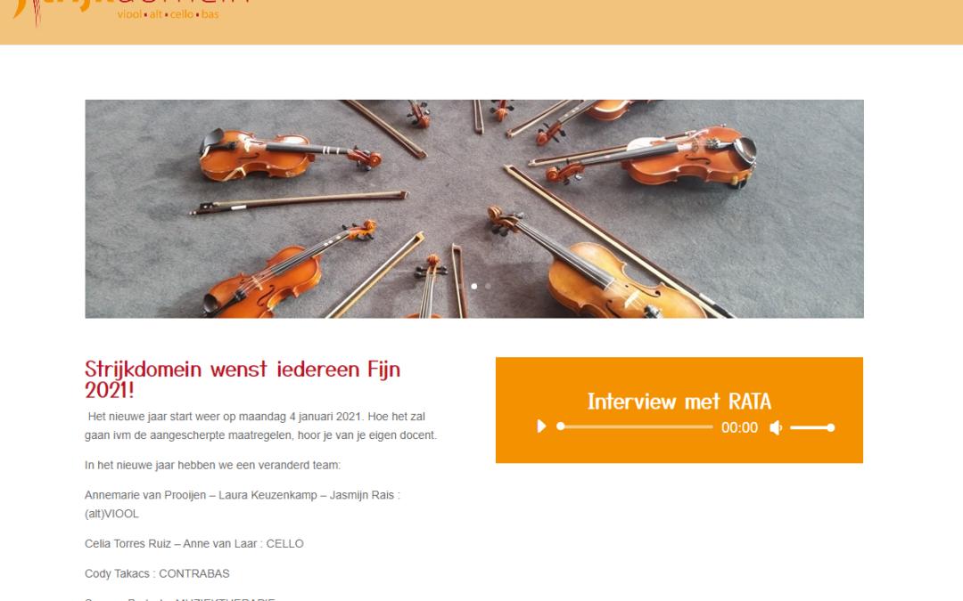 Frisse website